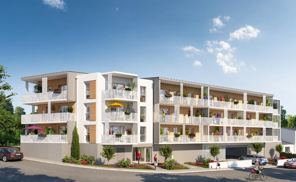 GUIPAVAS - Appartement T3 neuf de 66m² avec cave, garage et place de stationnement