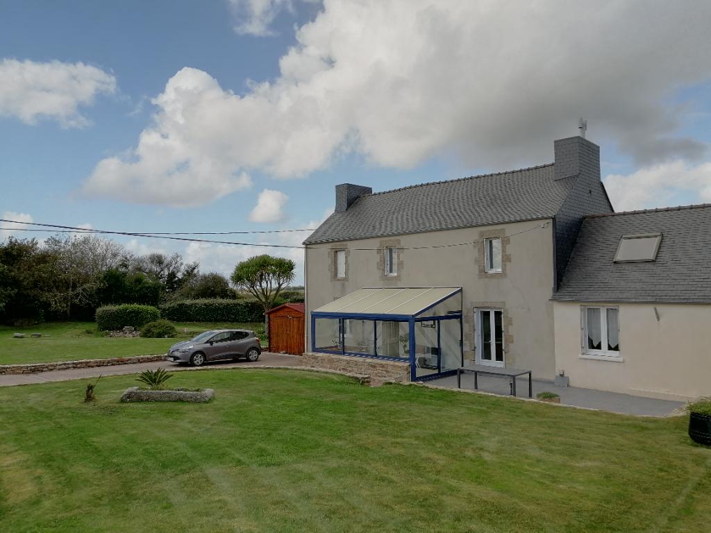 SOUS COMPROMIS - Maison Plourin 6 pièces 137 m2- SOUS COMPROMIS