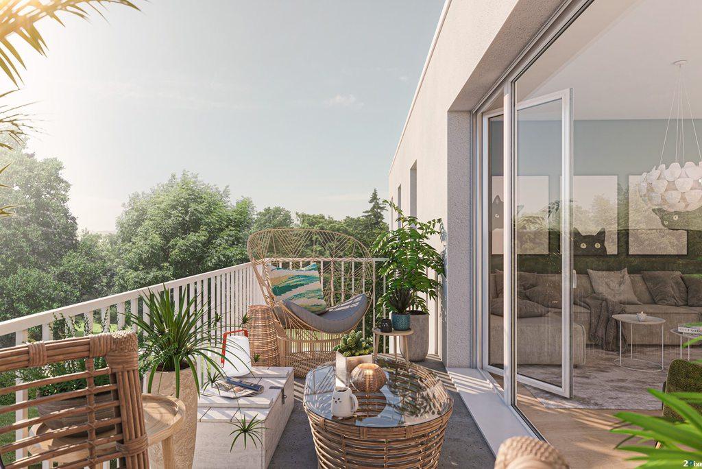 Guilers Superbe type 3 avec jardin et terrasse