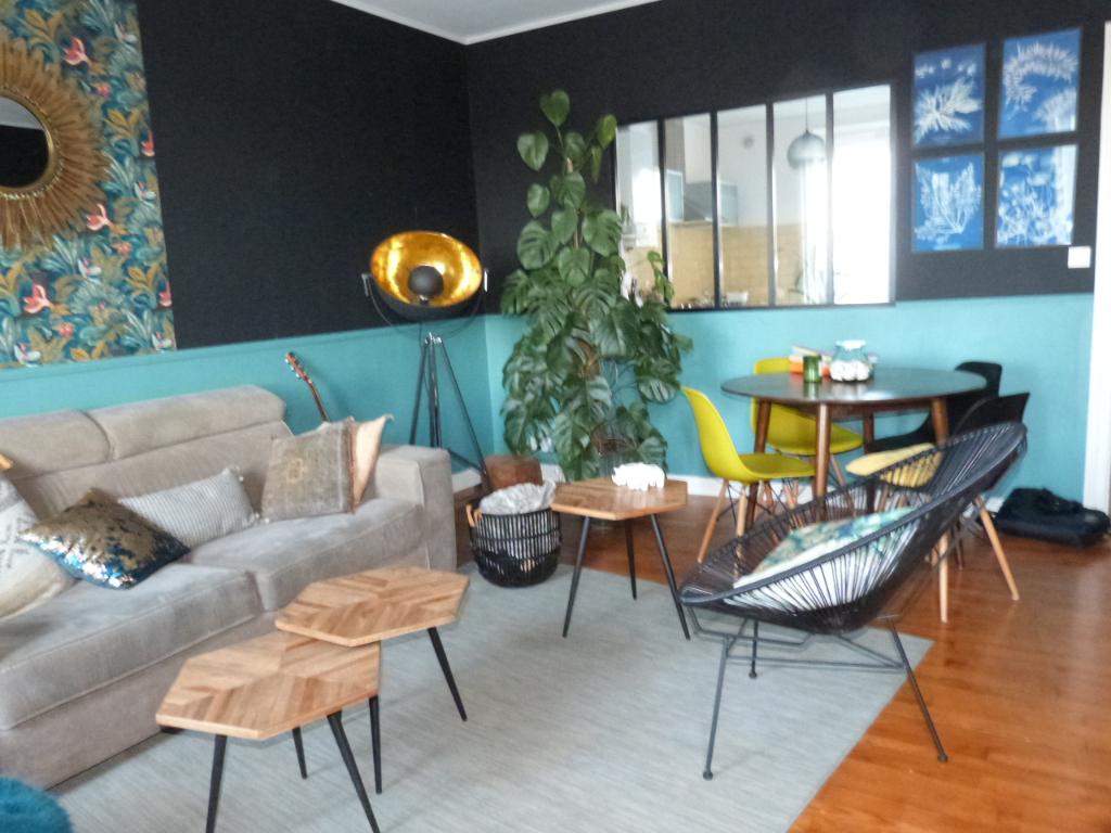 Brest Centre Ville Type 4 avec 3 chambres