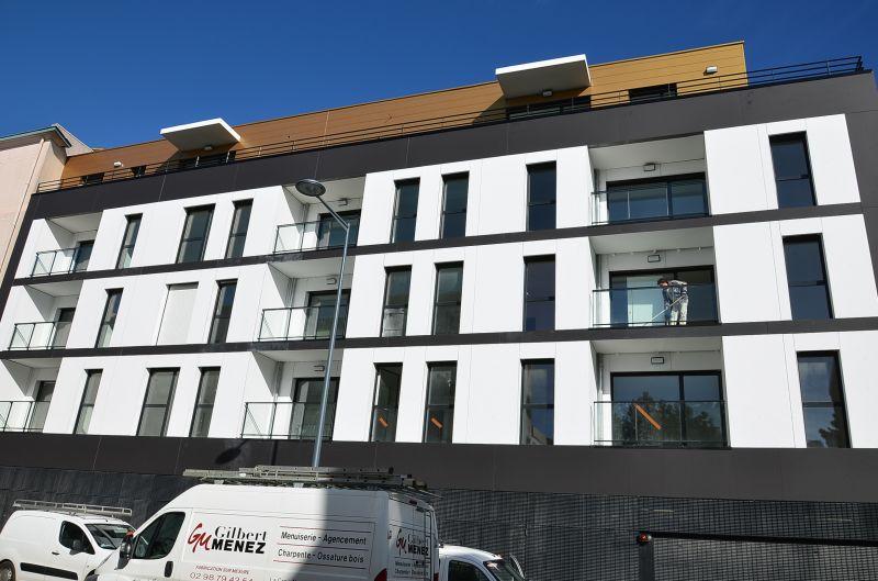 BREST STRASBOURG - T2 neuf de 46 m² BBC