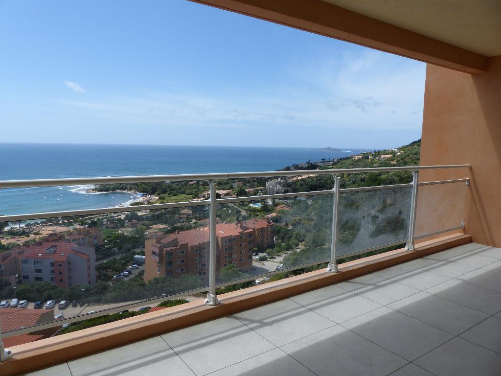 Ajaccio Sanguinaires Le Panoramique  T4 récent  103 m²  belle Vue Mer