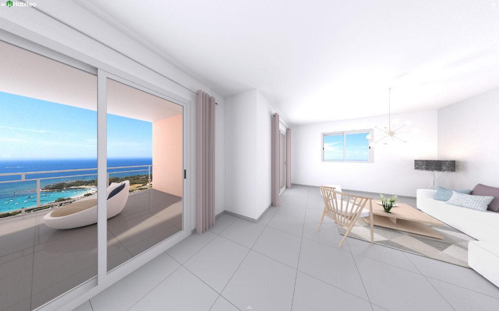 Ajaccio Sanguinaires  le Panoramique T4 récent  102.17 m2 belle vue mer 350m² de terrasse