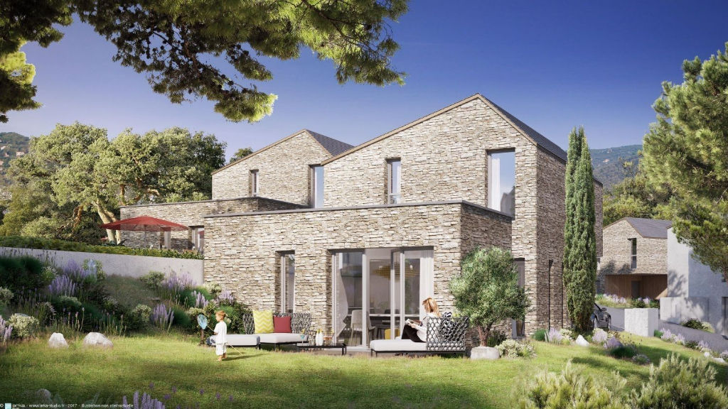 Ajaccio Maison  4 pièce(s) 81.59 m2 , terrasse et jardin
