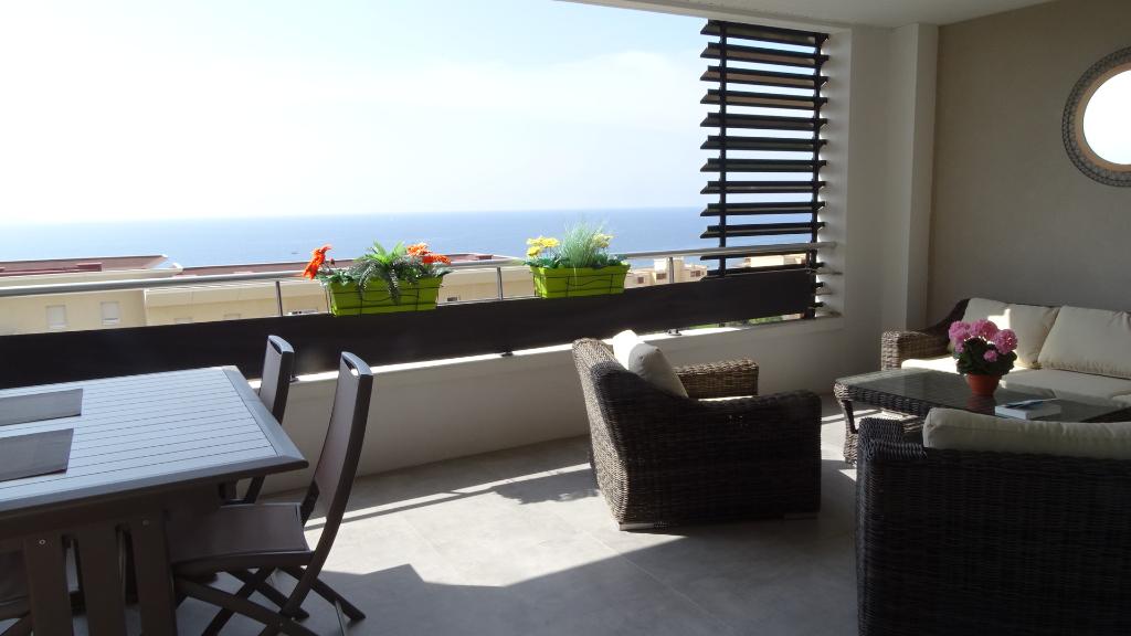 Ajaccio Sanguinaires Appartement récent 4 pièce(s) 109 m2 avec vue mer