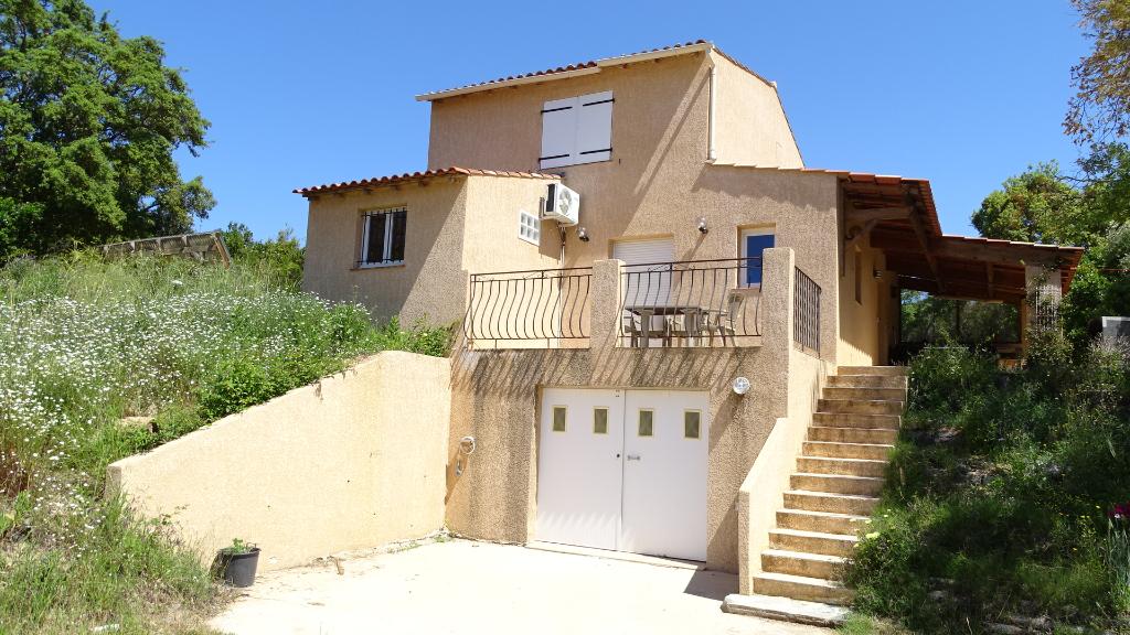 Rive Sud proche Agosta Maison 4 pièces avec garage petite vue mer