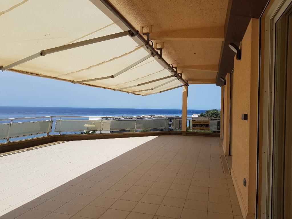Appartement rénové  Ajaccio Sanguinaires 4 pièce(s) 130 m2 avec garage vue mer