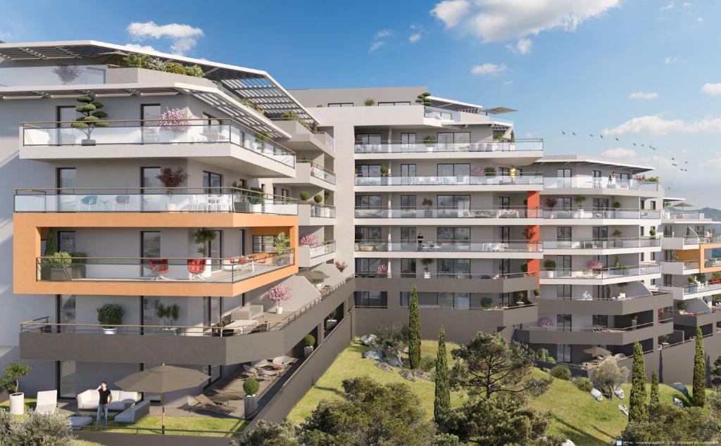 Programme neuf Ajaccio  entrée de ville 1 pièce(s) 31.90 m2