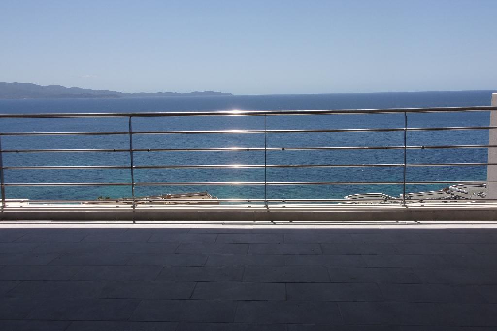 Début Sanguinaires duplex neuf F5 143m² vue mer imprenable dernier étage