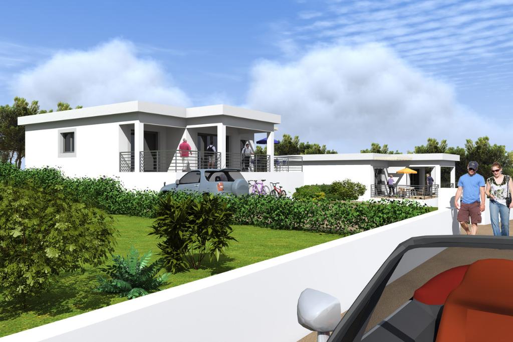 Maison contemporaine neuve  Albitreccia 4 pièce(s) 100 m2 proche mer