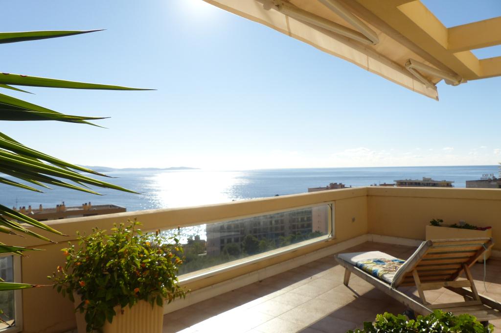 Ajaccio Sanguinaires magnifique toit terrasse 160m² vue mer  T4 duplex