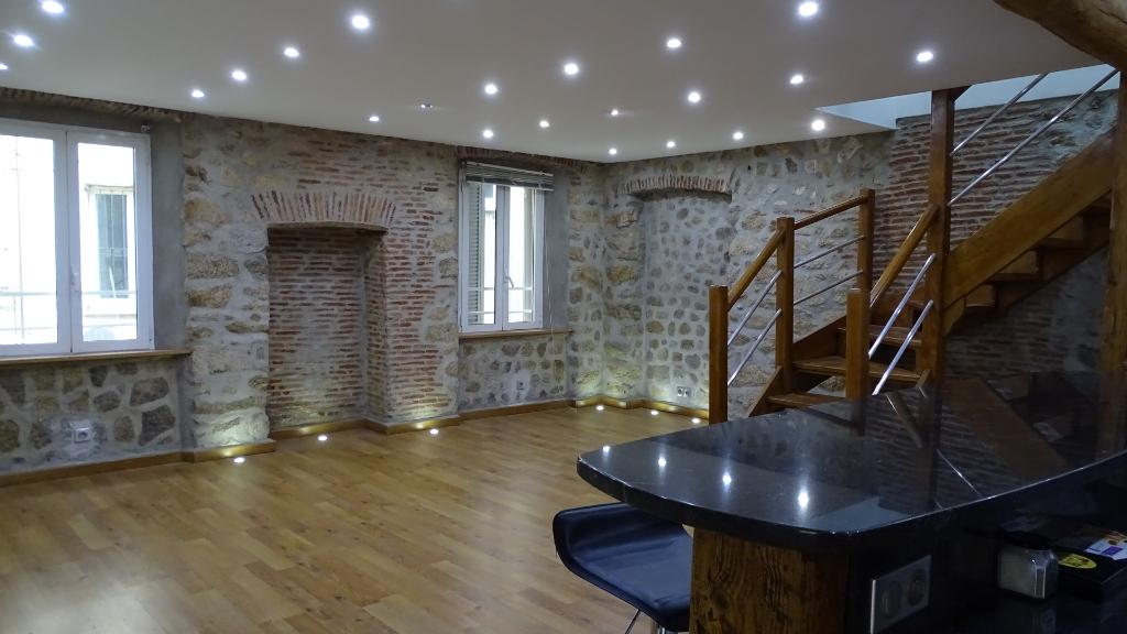 Ajaccio Magnifique T4T5 Duplex  de charme de 140m²  proche place Foch