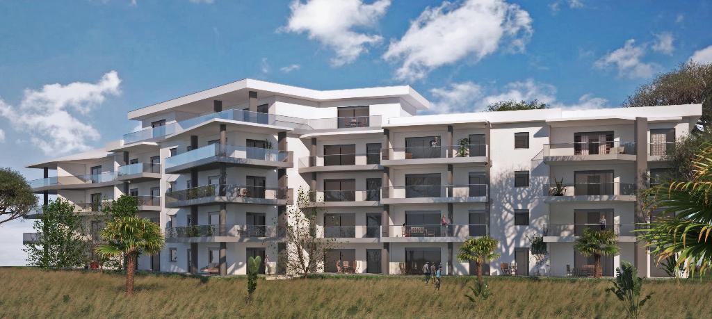 Appartement récent  AGOSTA 4 pièce(s)  95 m² belle Vue mer proche plage