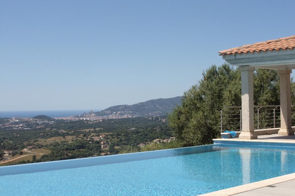 Propriété  de prestige proche  Ajaccio 8 pièce(s) 400 m2 vue mer et montagne