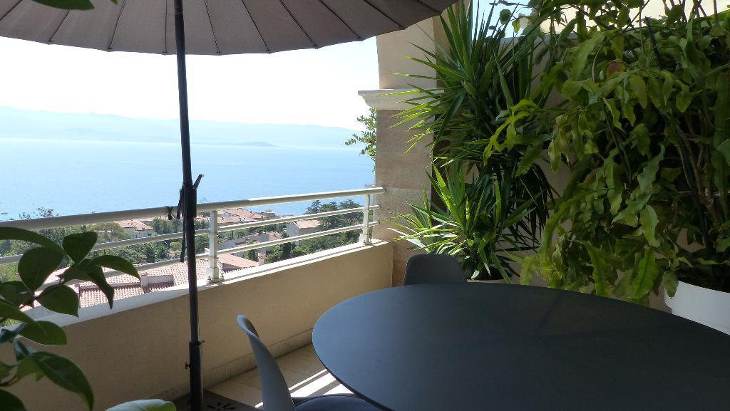 Ajaccio Parc Berthaud toit terrasse T 5 pièce(s) 175 m2 secteur prisé vue mer