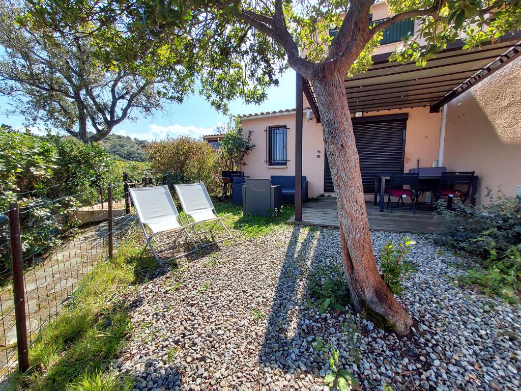 PORTICCIO Mini villa plain pied T2 25m²+30m²terrasse vue mer