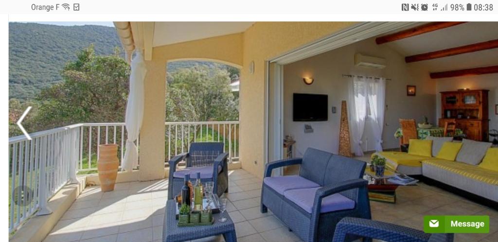 Villa  Vue mer Belvedere Campomoro 210 m2