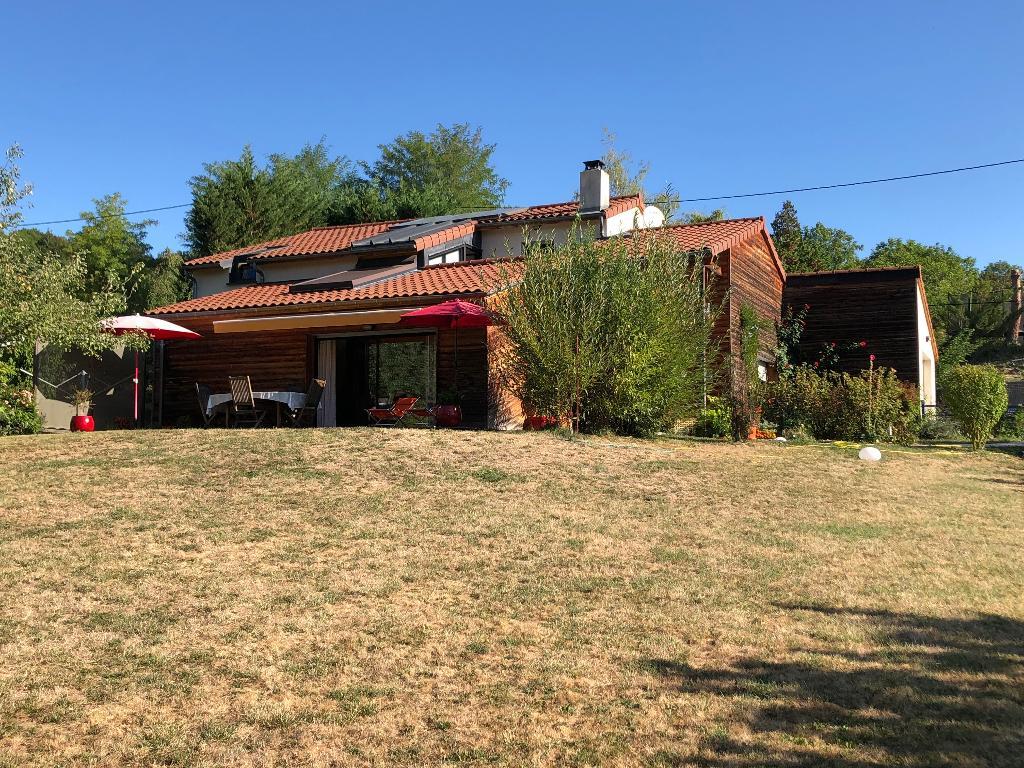 axe riom vichy maison écologique 160 m² et parc arboré