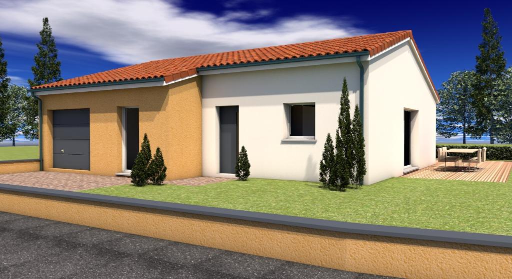 Maison neuve Chatel Guyon 3 chambres sur 600m² de terrain