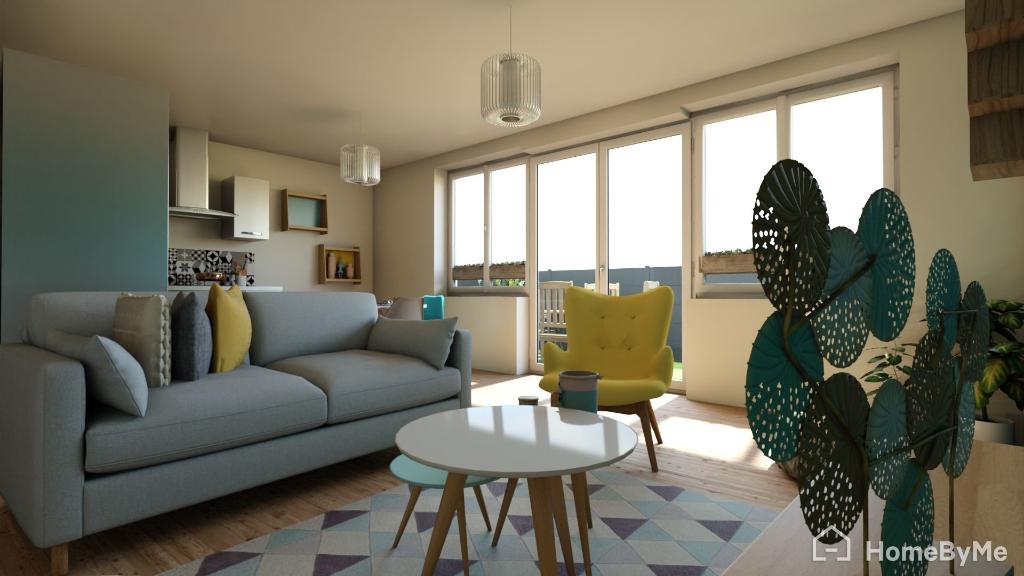 Chatel Guyon appartement F3 en rdc et terrasse