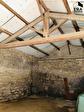 LAURIS - Remise en pierres de 60 m² , terrain de 280 m² avec permis de construire, garage. 3/4