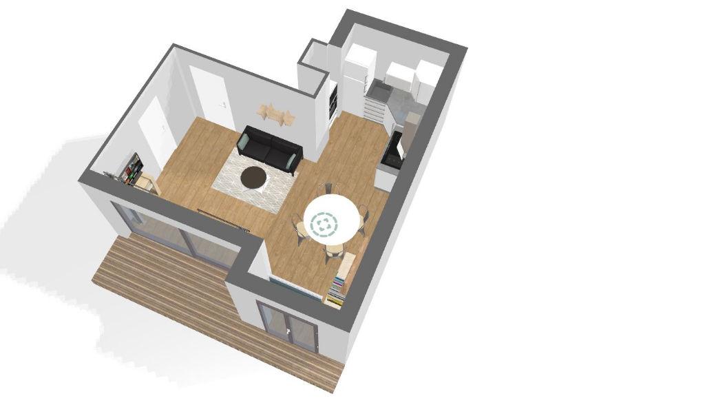Appartement Colombes 2 pièces 45 m2
