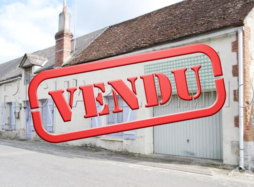 VENDU - Maison - 3 pièces - 95 m² - LORCY - 45 - LOIRET