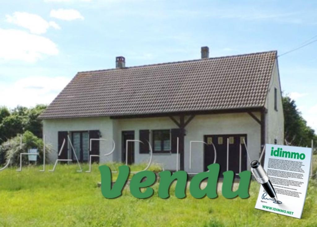 VENDU Maison - 3 pièces - 70 m² - LORCY - 45 - LOIRET