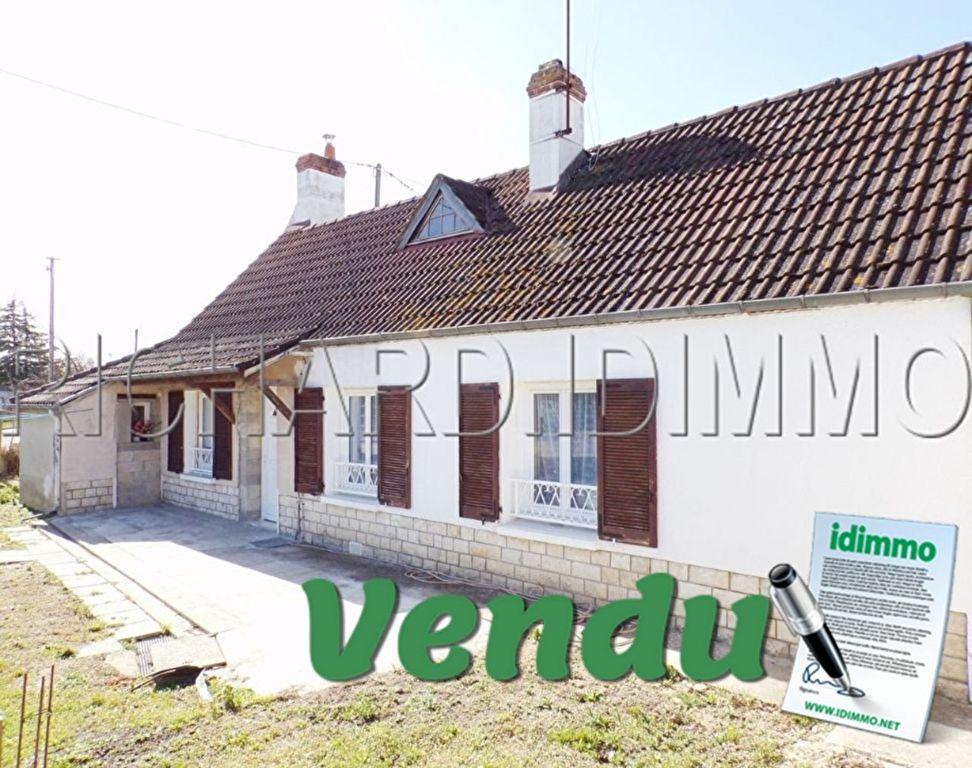 VENDU Maison - 2 pièces - 62 m² - LORCY - 45 - LOIRET