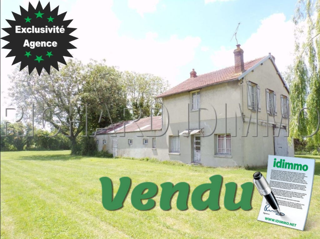 OFFRE D'ACHAT ACCEPTEE - CORBEILLES - Maison - 6 pièces - 95 m²