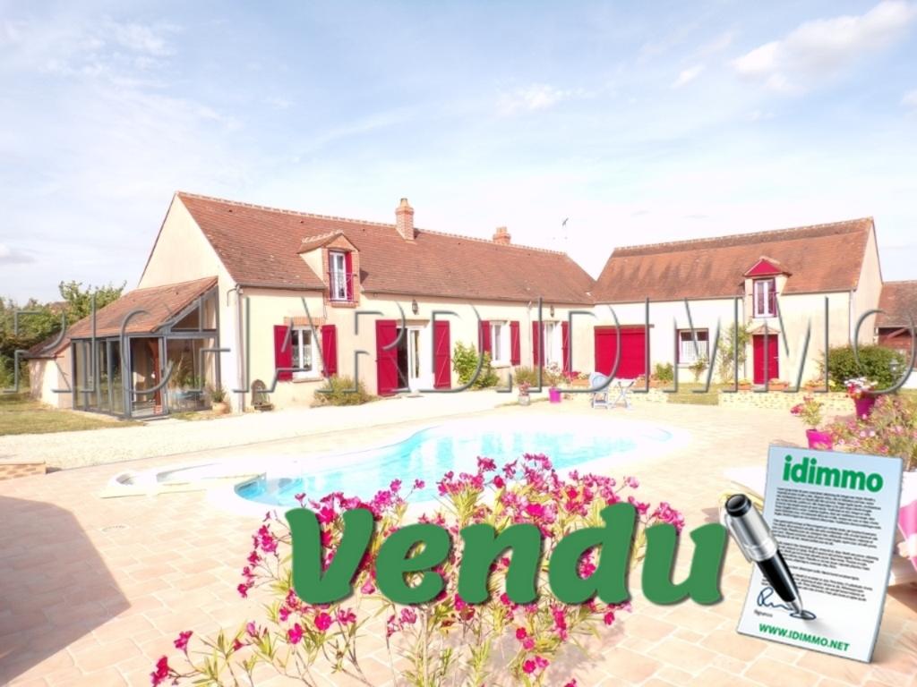 VENDU - Maison - 9 pièces - 185 m² - LORCY - 45 - LOIRET
