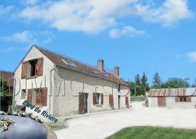 CHATEAU-LANDON  Maison A vendre - 3 pièces - 90 m² Habitables sur 3379 m² de terrain