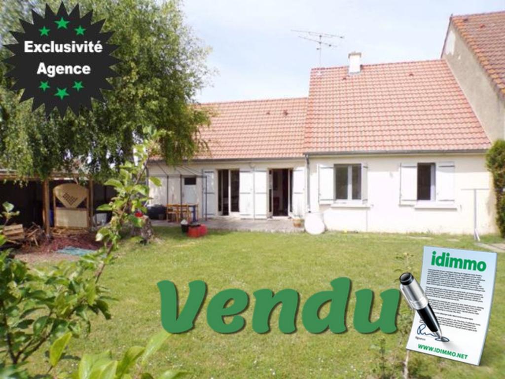 VENDU à CORBEILLES - Pavillon 3 chambres, 455 m² de Terrain, Garage attenant.