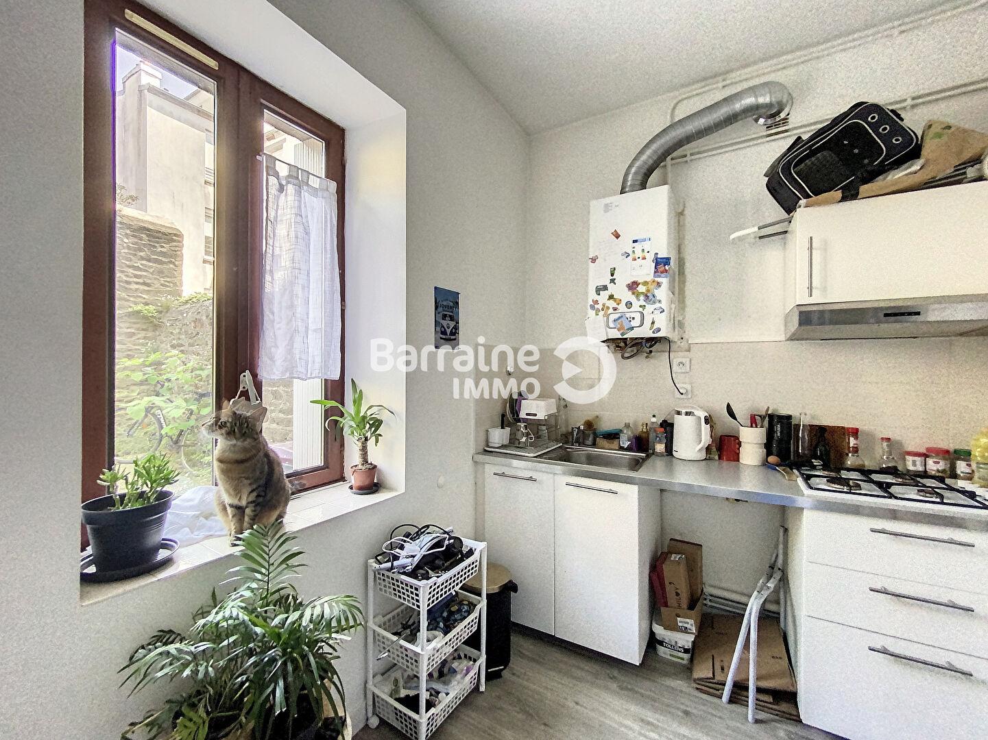 A LOUER BREST SAINT MICHEL APPARTEMENT T1 21.83 m²