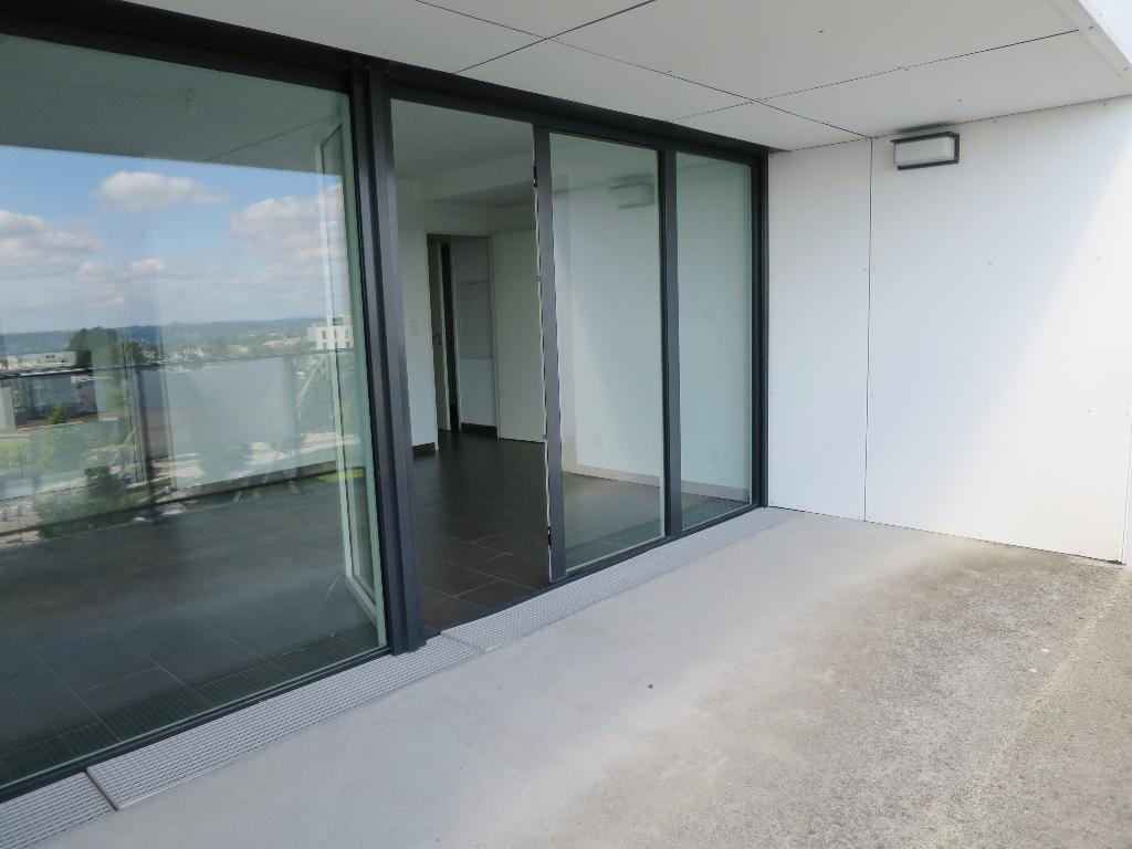 A LOUER BREST PLACE DE STRASBOURG APPARTEMENT T3 63.18 m² RESIDENCE BBC ASCENSEUR TERRASSE PARKING
