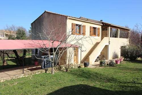 Proche Barjac - Maison 155 m² habitables en très bon état avec 6500 m² de terrain