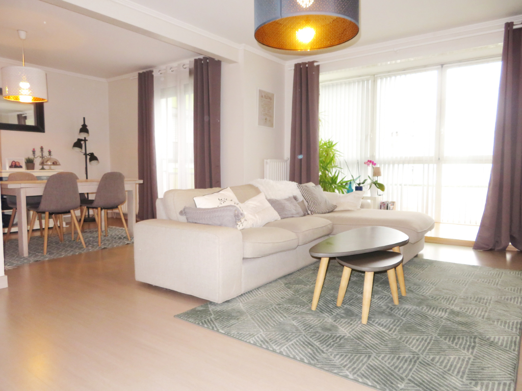 VENDU PAR OCEANE IMMOBILIER  BREST  LE VALLON DU STANG-ALAR  APPARTEMENT  T5  99 M²  ASCENSEUR  BALCON  PARKING