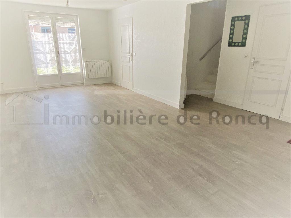 NOUVEAUTE!  Centre Roncq, 3 chambres, jardin + garage.