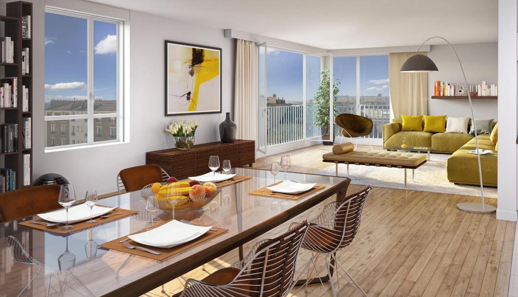 Appartement 2 pièces, 51 m² - Boulogne Billancourt