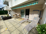 Sallanches :  33 m2 état neuf avec terrasse et jardin 3/7