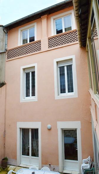 Appartement  4 pièces avec cour intérieure privative