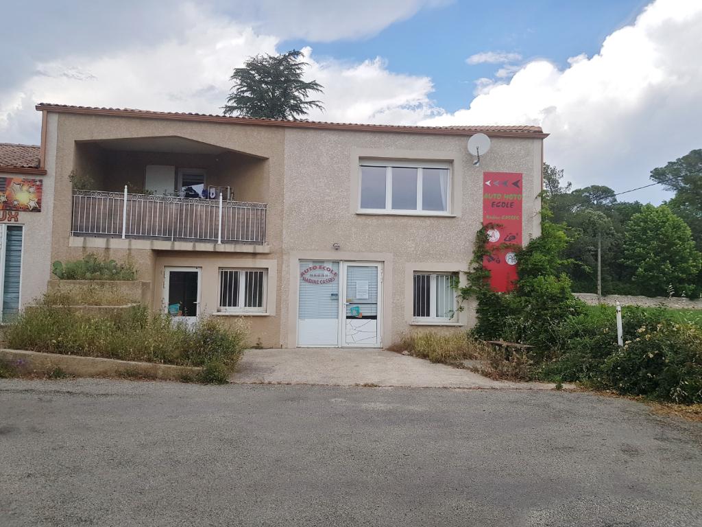 Local commercial Saint Christol Les Ales 4 pièces 79 m2, parking, proche Lycée Jacques Prévert