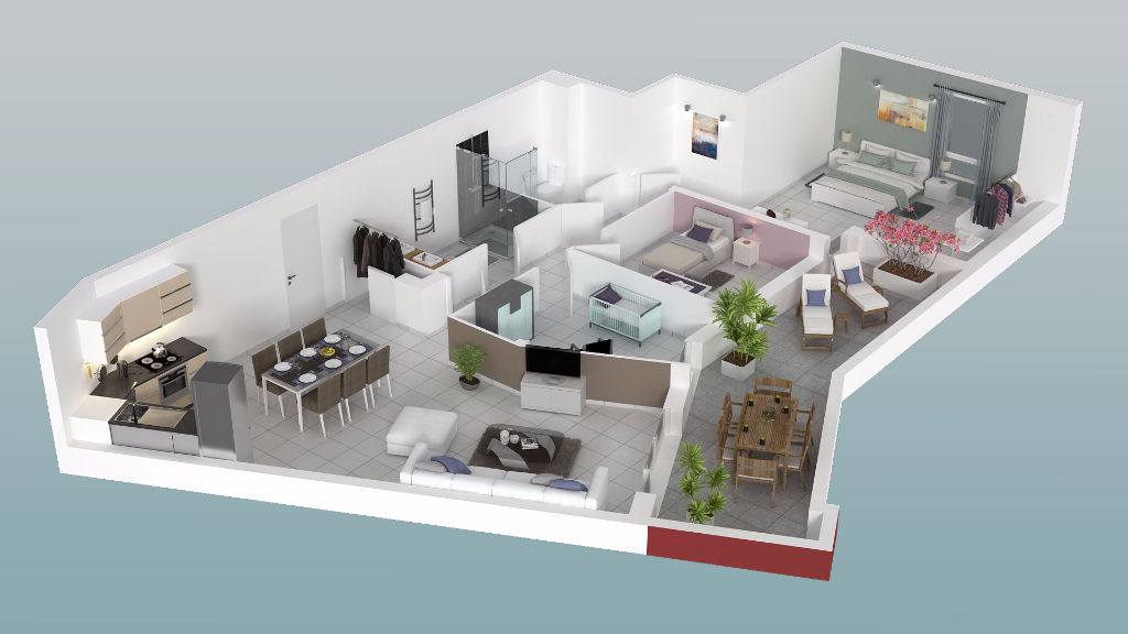 APPARTEMENT LES ANGLES
