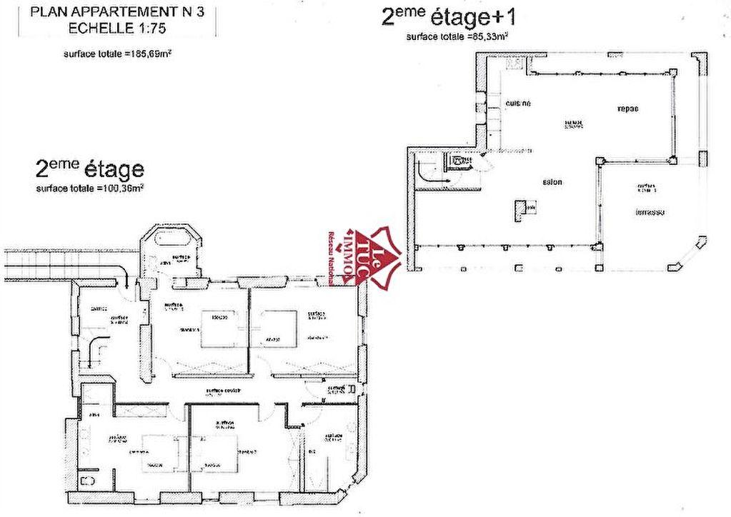Appartement plateau à aménager