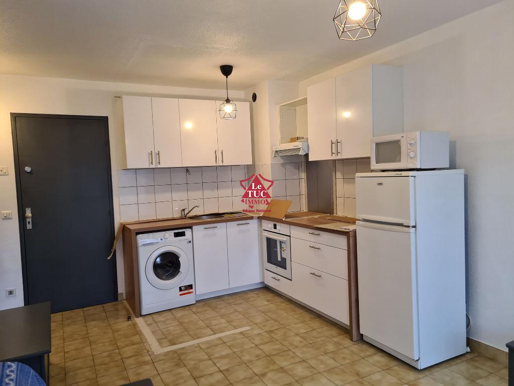 Appartement T2 meublé à louer à l'année
