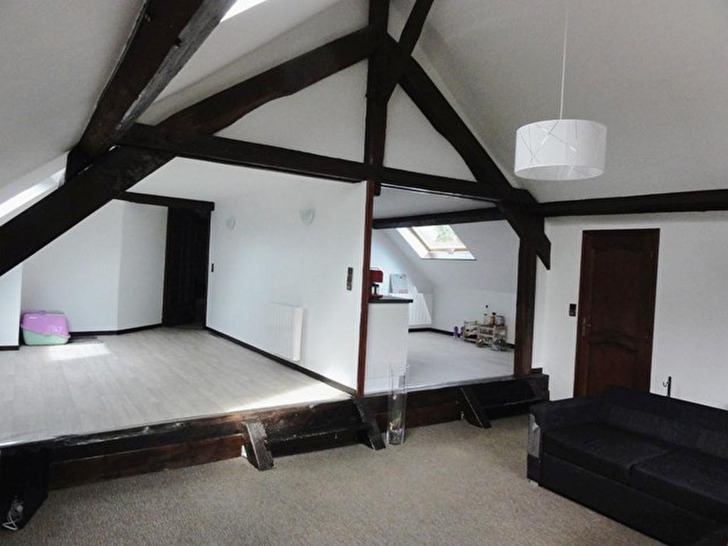 90 m² en dernier étage d'une ancienne ferme