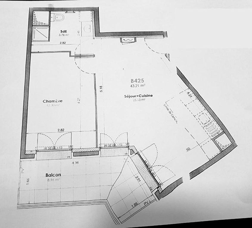 Appartement  2 pièce(s) CLAMART NEUF