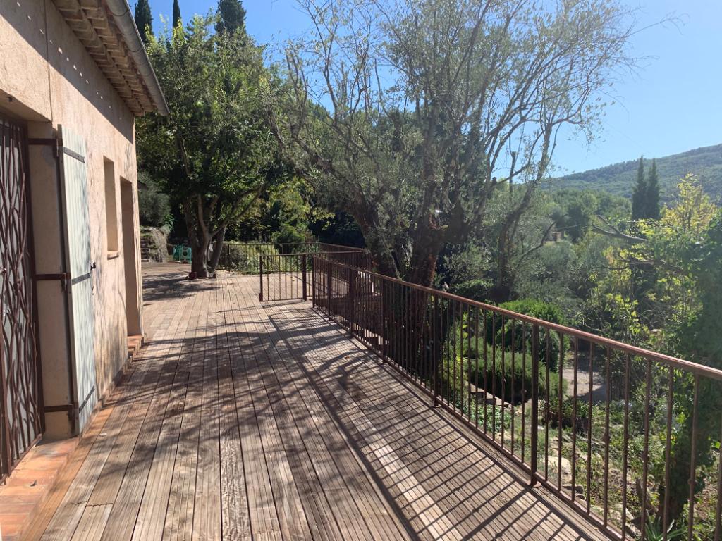 TOURRETTES  sur loup les Valettes villa individuelle 130 m2 avec vue panoramique