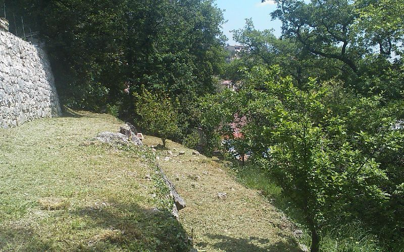 BAR SUR LOUP VILLAGE PLOT WITH PERMIT FOR 2 TWIN HOUSES""