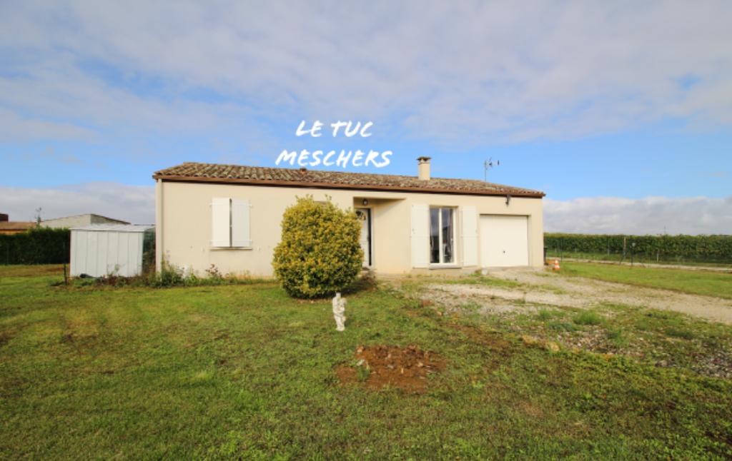Saint André de Lidon  maison